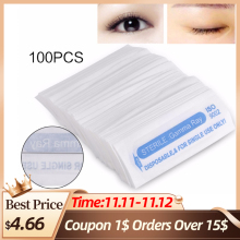 Wholesale 100Pcs Disposable Sterilized Tattoo Needles 1R/3R/5R For Eyebrow Tattoo Microblading Pen Machine Makeup Accessories