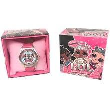 Часы lol surprise dolls детские часы с кожаным ремешком милые