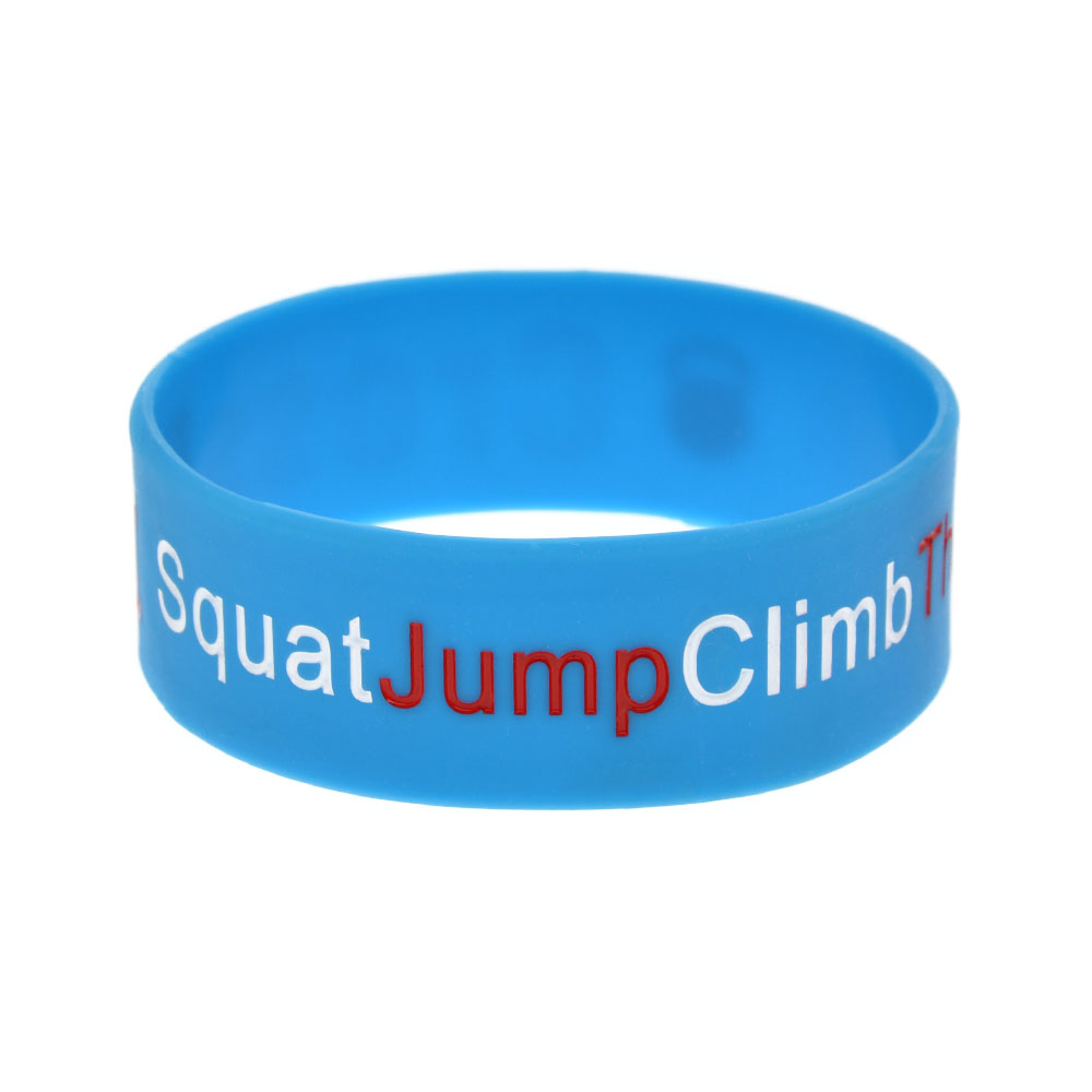 OBH 1PC One Inch Wide CrossFit Squat Jump Climb Throw Lift Pulsera de - Bisutería - foto 5