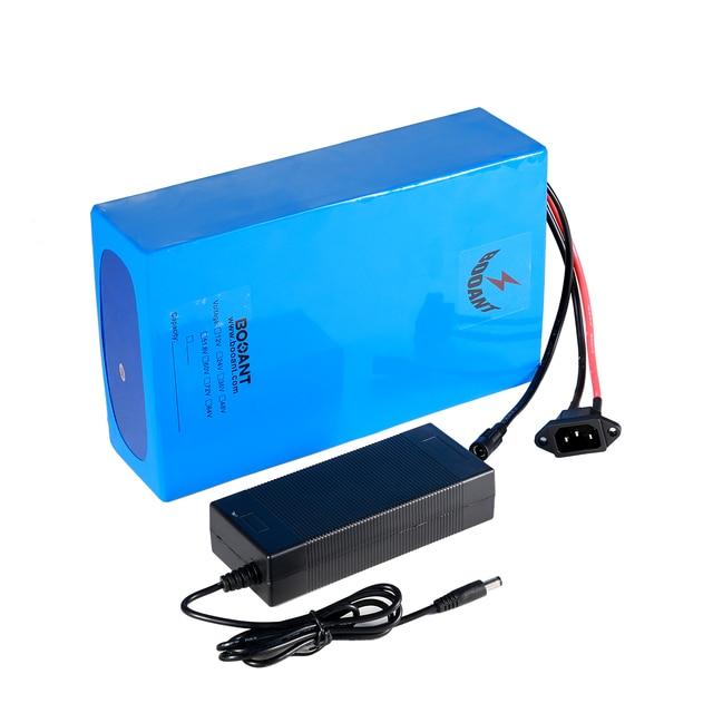 7S 24V 10S 36V 350W 리튬 이온 배터리 13S 48V 13Ah 750W 전기 자전거 배터리 팩 18650 셀 2A 충전기