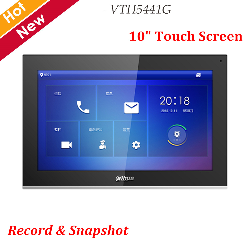 Newest Dahua Video Intercoms VTH5441G Digital VTH 10