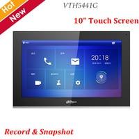 Newest Dahua Video Intercoms VTH5441G Digital VTH 10 TFT Touch Screen Record and Snap IPC Surveillance Alarm Replace VTH1660CH