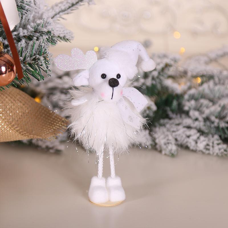 2020 New Year Gift Cute Christmas Angel Doll Xmas Tree Ornament Noel Deco Christmas Decoration for Home Natal Navidad 2019 Decor 51