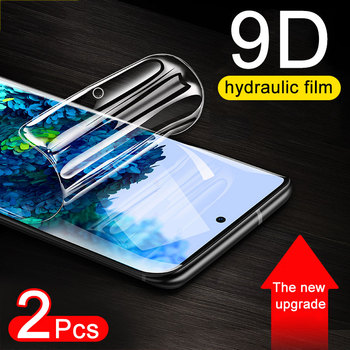 2Pcs 9D Screen Protector For Samsung Galaxy S20 S10 S9 S8 Plus Ultra Full Cover Hydrogel Film For Samsung S6 S7 Edge Not Glass full soft hydrogel film for samsung galaxy s10 s9 s8 a8 plus s7 edge screen protector for samsung note 9 8 s10 plus a9 not glass