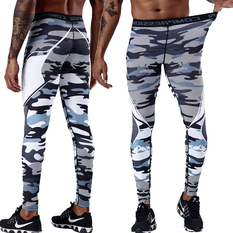 Men Clothing Compression Pants Men Fitness Muscle Leggings Sportswear Sweatpants Gyms Male Trousers Workout Mens Joggers Pants