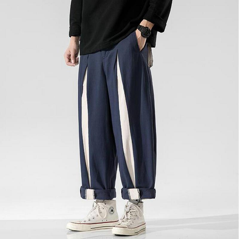 Men Streetwear Cargo Pants 2020 Autumn Hip Hop Joggers Pants Overalls Black Fashions Baggy Pockets Trousers Men Dropshipping