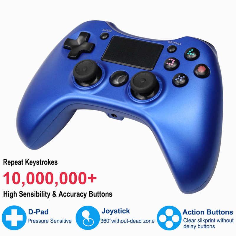 Nirkabel Bluetooth Gamepad untuk PS4 Controller untuk PlayStation DualShock 4 Gamepad Joystick untuk PS4 PS3 PC Android TV Box Gamepad