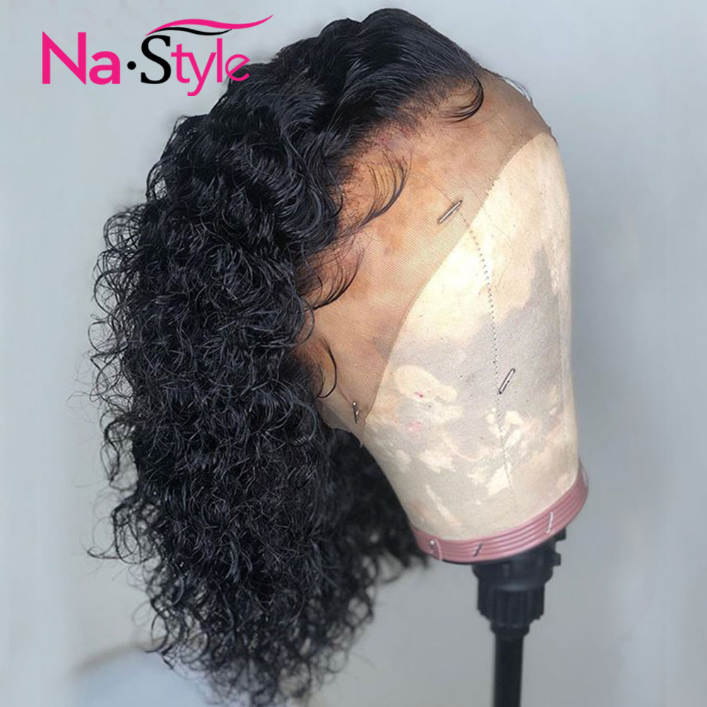 Curly Bob Wig Human Hair Wig 13x6 Deep Part Preplucked Lace Wig Brazilian Glueless Frontal Wig Natural Hair Remy Full End