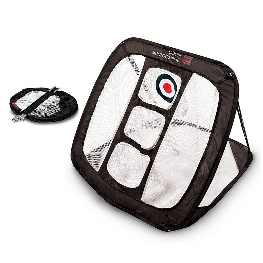 Golf Net Practice Indoor Outdoor Chipping Mat Training Aid Tools Portable Nylon Target Accessories Net Golfing Finger Ten