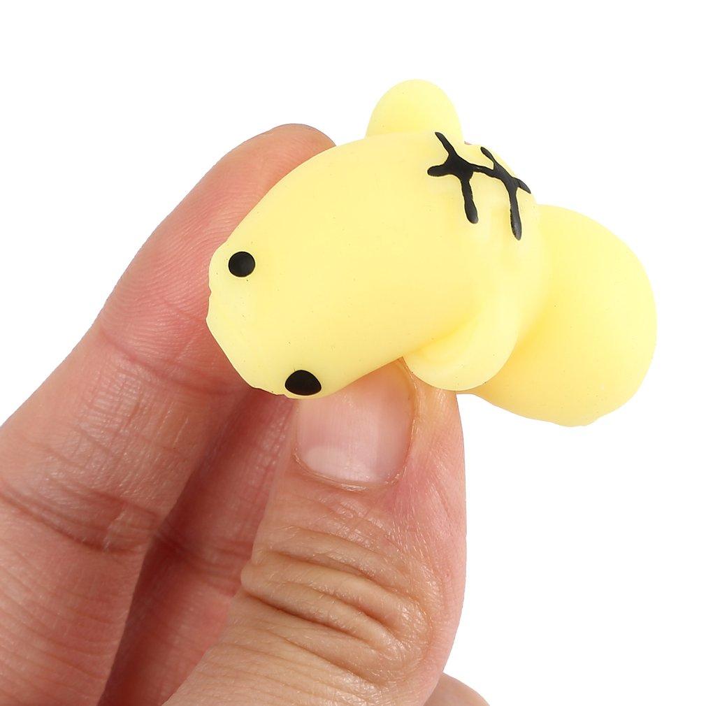 Мягкие мини мягкие игрушки для снятия стресса милые животные дизайн Skuishy Animales панда для сдавливания декомпрессии игрушки для детей и взрослых - Цвет: tiger