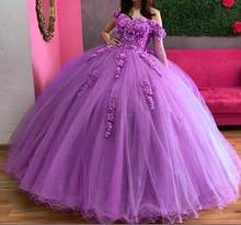 ANGELSBRIDEP Sweetheart Ball Gown Quinceanera Dresses For 15 Party Fashion Off-Shoulder Applique Cinderella Birthday Gown Hot