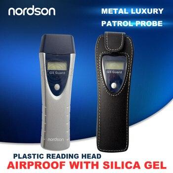 Nordson Original Mini RFID Sonda de recorrido con pantalla de alimentación de batería Cable USB guardia de Tour patrulla fácil usuario para sistema de seguridad