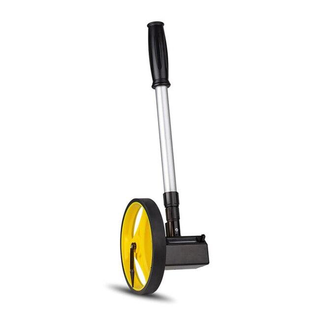 Dobrável Roda de Distância Medidor 0 9999M Extensível de Longa Distância Roda De Medição