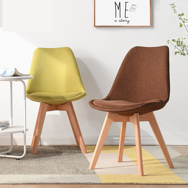 Stock Clearance High Quality Simple Modern Home Dining Chair Back Office Chair Creative Solid Wood Nordic Chair Office Chair Aliexpress