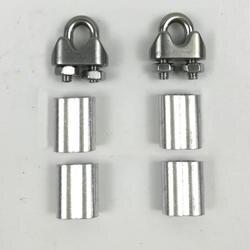 5 метров 2 мм 2,5 мм 3 мм 3,5 мм Диаметр стали с ПВХ покрытием гибкий стальной трос прозрачный из нержавеющей стали