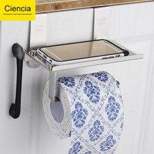 304 проволочный диспенсер для бумажных полотенец из нержавеющей стали, дверная навесная подставка для полотенец, кухня, ванная комната, Дырокол с пробивным отверстием