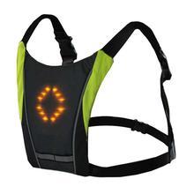 Wireless Remotec LED Lightning Sparkling Warning Riding Vest Sleeveless Shirt Night Bright Eletric Smart