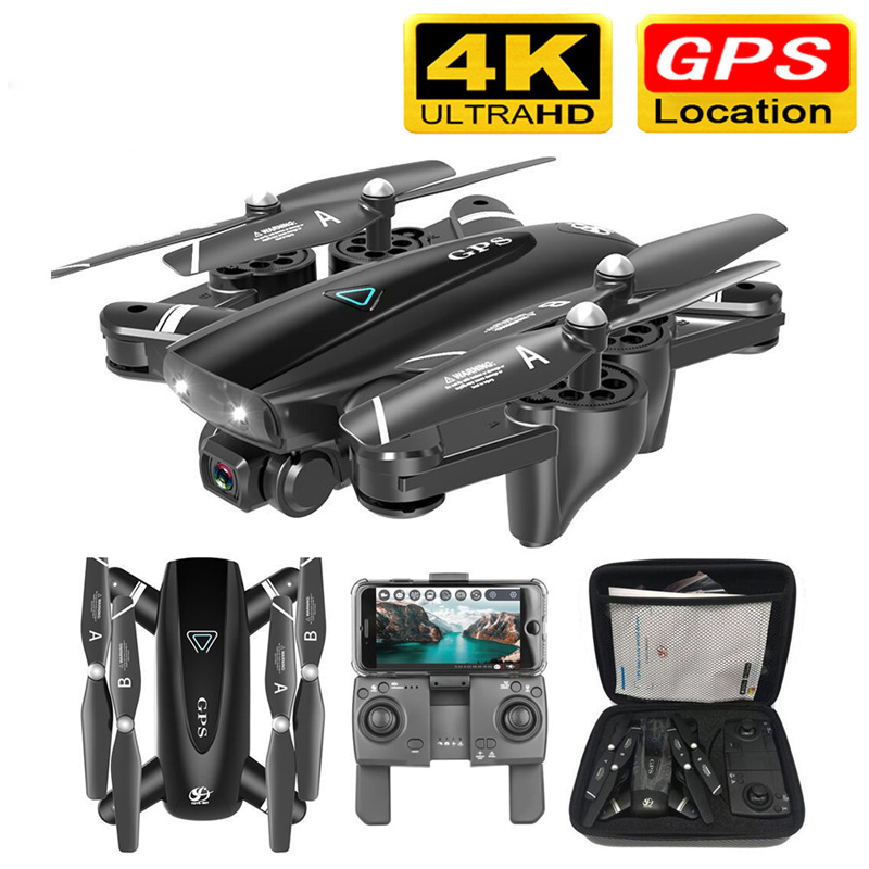 S167 GPS Drone With Camera 5G RC Quadcopter Drones HD 4K FPV WIFI Foldable Off-Point Flying Photos Video Dron Helicopter Toy