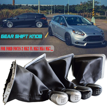 Lever-Knob Gaitor-Boot-Cover Ford Focus Galaxy Car-Gear-Shift-Stick C-MAX with MT FL
