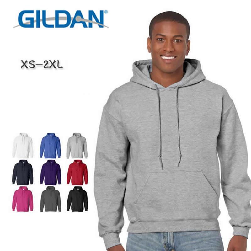 GILDAN New Brand Sweatshirt Men's Casual Hoodies Men Fashion Fleece High Quality Hoody Pullover Hip Hop Sportswear Clothing