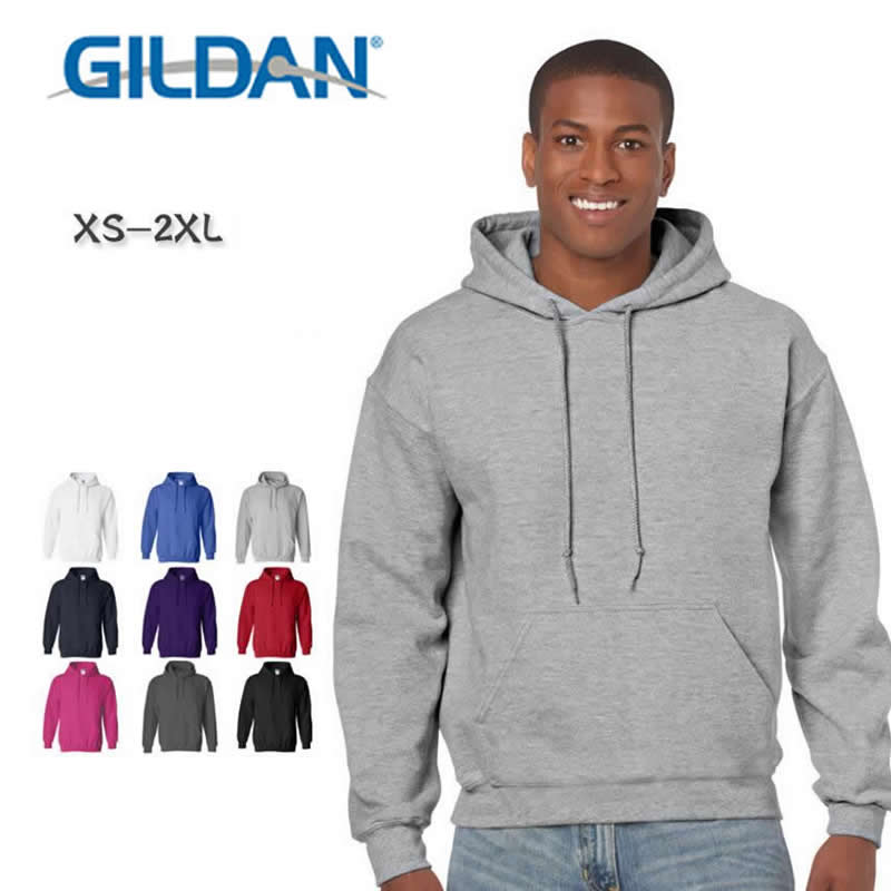 GILDAN New Brand Sweatshirt Men's Casual Hoodies Men Fashion Fleece high quality Hoody Pullover Hip Hop Sportswear Clothing