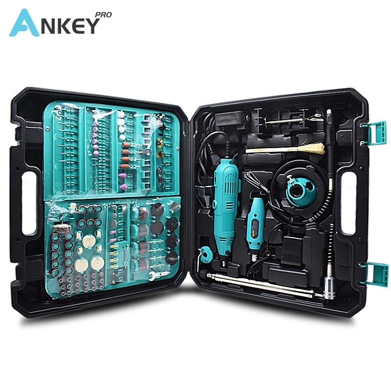 Mini broca elétrica rotativa, 2 peças, faça você mesmo, broca elétrica estilo dremel, ferramenta mini broca máquina de moagem