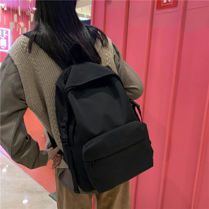 Image 4 - Nowy wodoodporny nylonowy plecak damski Japan Style solidne plecaki moda Mochila Feminina Mujer torba podróżna nastoletnia dziewczyna tornister