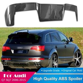 AITWATT Fit For Audi Q7 SQ7 ABT Style Carbon Fiber Spoiler 2006 to 2015 Rear Window Lip Wing Car Spoiler Auto Parts Car Styling
