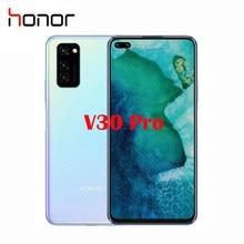 Honor-teléfono móvil V30 Pro Original, móvil con pantalla de 6,57 pulgadas, Kirin 990, 5G, ocho núcleos, sistema operativo Android 10, batería de 4100mah, NFC, nuevo