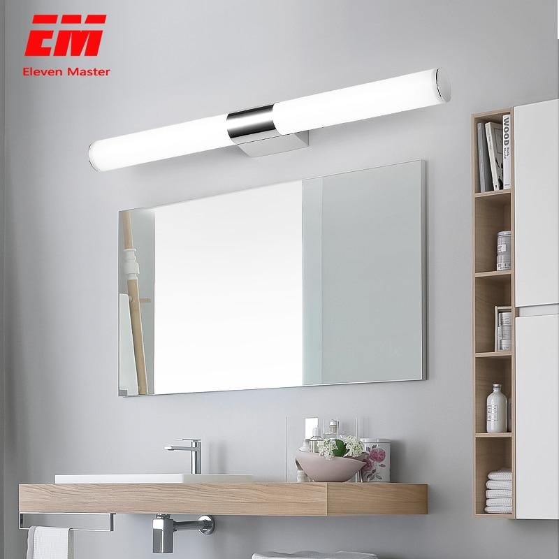 12/16/22W Mirror light Stainless steel & aluminum Modern LED Light Bathroom living room home hotel Wall Toilet lamp ZJQ0014 1