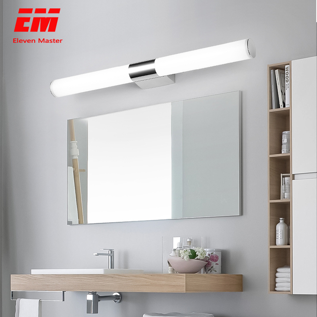 12/16/22W Mirror light Stainless steel & aluminum Modern LED Light Bathroom living room home hotel Wall Toilet lamp ZJQ0014 1