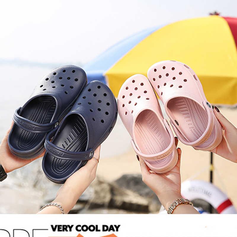Женская обувь; обувь с вырезами; мужская пляжная обувь; легкие сандалии домашние тапки; уличные летние болотные кроссовки; обувь для отдыха; большие размеры