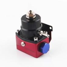 Aluminium Regulator ciśnienia paliwa czarny i czerwony styl AN6 port zapewnienia jakości