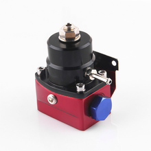 aluminum Fuel Pressure Regulator black and red style AN6 port quality assurance