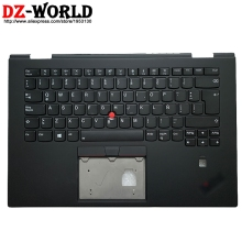 Upper-Case Palmrest Laptop Backlit Keyboard Thinkpad Spanish Latin Lenovo Shell