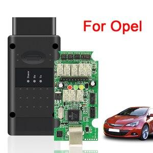 Image 1 - フラッシュファームウェア更新obd OBD2スキャナーopcom V5 op com 1.70 OP COM 1.95 1.99オペルPIC18F458 ftdi canバス