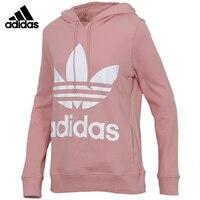 Original Adidas TREFOIL HOODIE Womens Pullover Hoodies Sportswear Sweatshirt