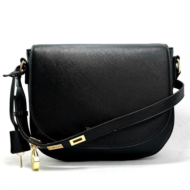 2021 Women Brand Designer Handbags New Women's Messenger Bag Fashion Luxury Flap Lock European American Retro Saddle Shoulder