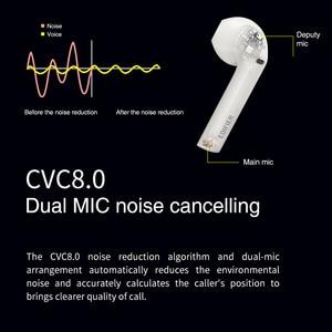 Image 4 - EDIFIER TWS200 Qualcomm aptX auricolare Wireless Bluetooth 5.0 TWS auricolari cVc Dual MIC cancellazione del rumore fino a 24 ore di riproduzione