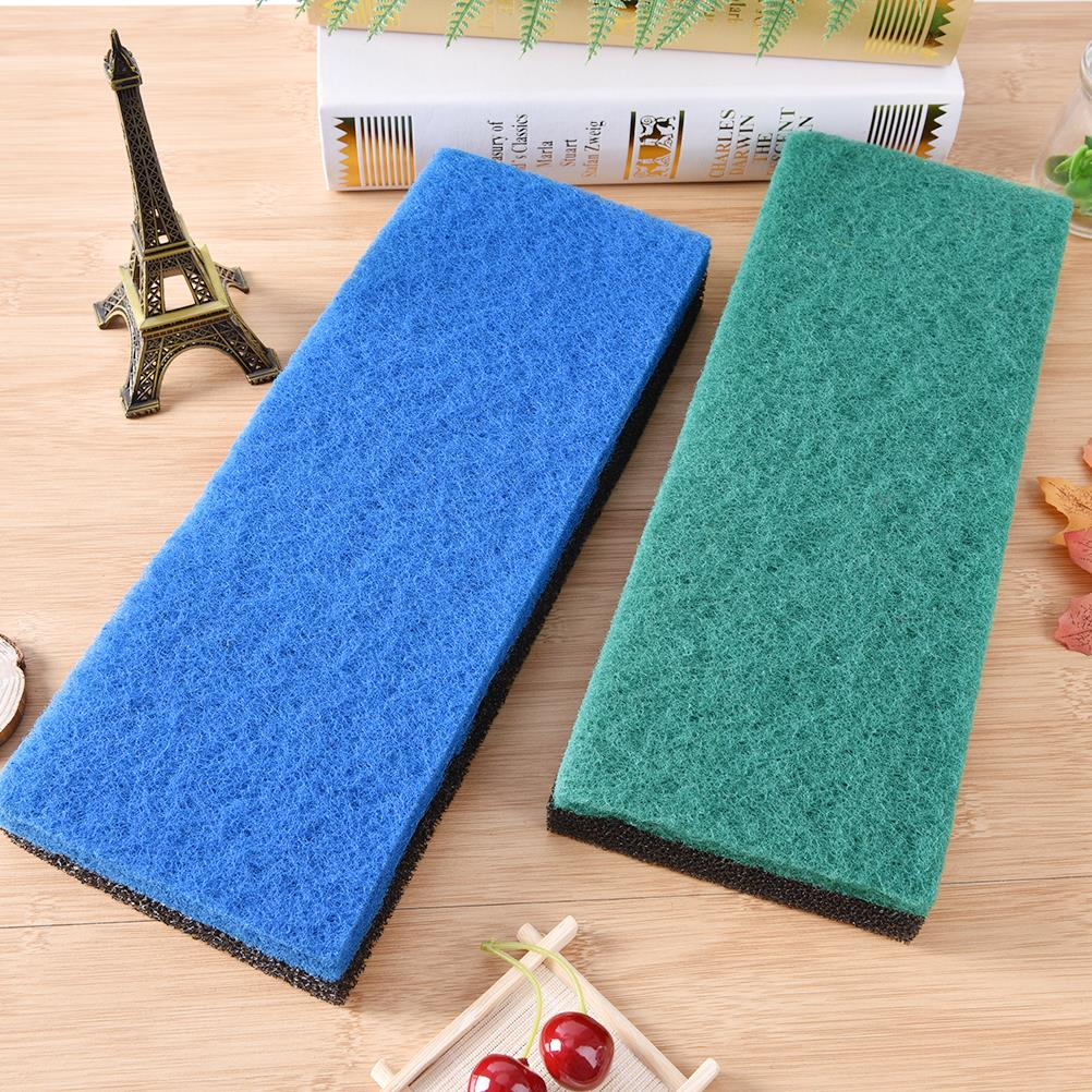 2pcs Biochemical Cotton Filter Foam Bio Sponge For Aquarium Fish Tank Pond Noiseless Functional Aquarium Accessories 32*12* 2cm