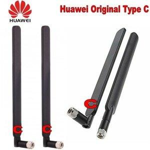Image 5 - Genuines Huawei סוג C 4G LTE חיצוני אנטנת SMA מחבר HUAWEI B315 B593 B715 E5186 B310 B612 אלחוטי Gateway 2PCS