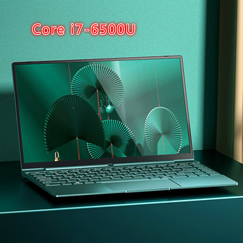 14 Inch Pink Laptop Cute Notebook Computer Girls Core I7 or Celeron 3867U Ultra-Thin Portable Business Gaming School Green - Green, 16G 1000G SSD