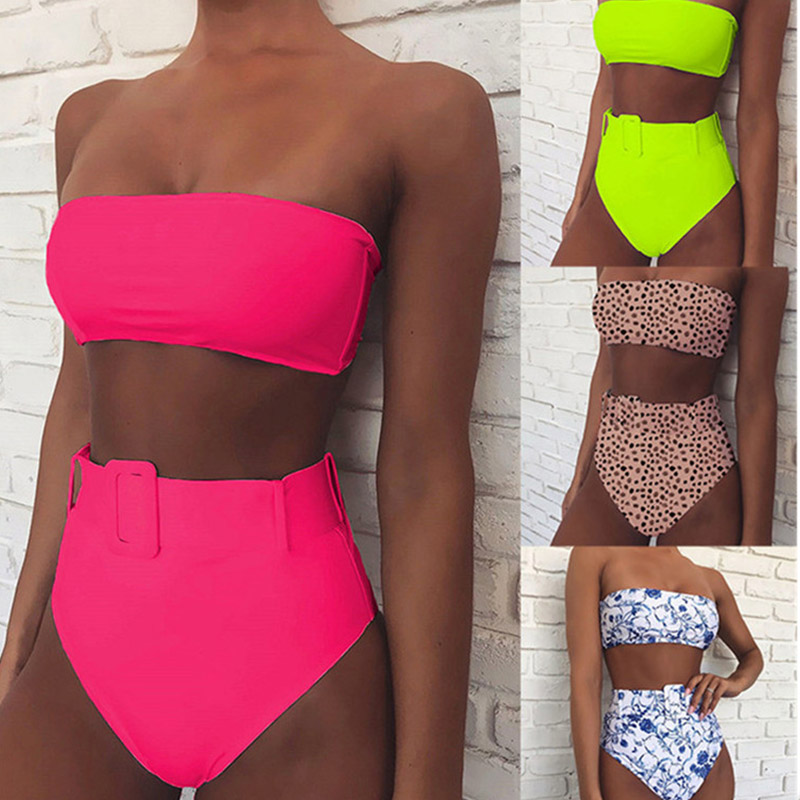 4 Colors Sexy Nightclub Bar Bikini Suit Dj Ds Female Singer Party Celebrate Clothes GoGo Sexy Beach Swimsuit 2 Pieces Set DL4697