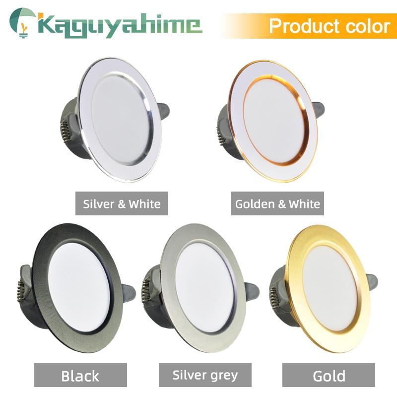 =(K)= LED Downlight Natural White/Warm/Cold 5w 3w LED Spot Light Indoor Recessed Lamp AC 220V LED Spotlight Round Panel Lamp 2
