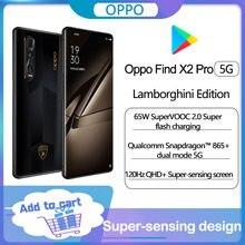 Original OPPO encontrar X2 Pro 5G Lamborghini Smartphone Snapdragon 865 Cámara 48MP 6,7