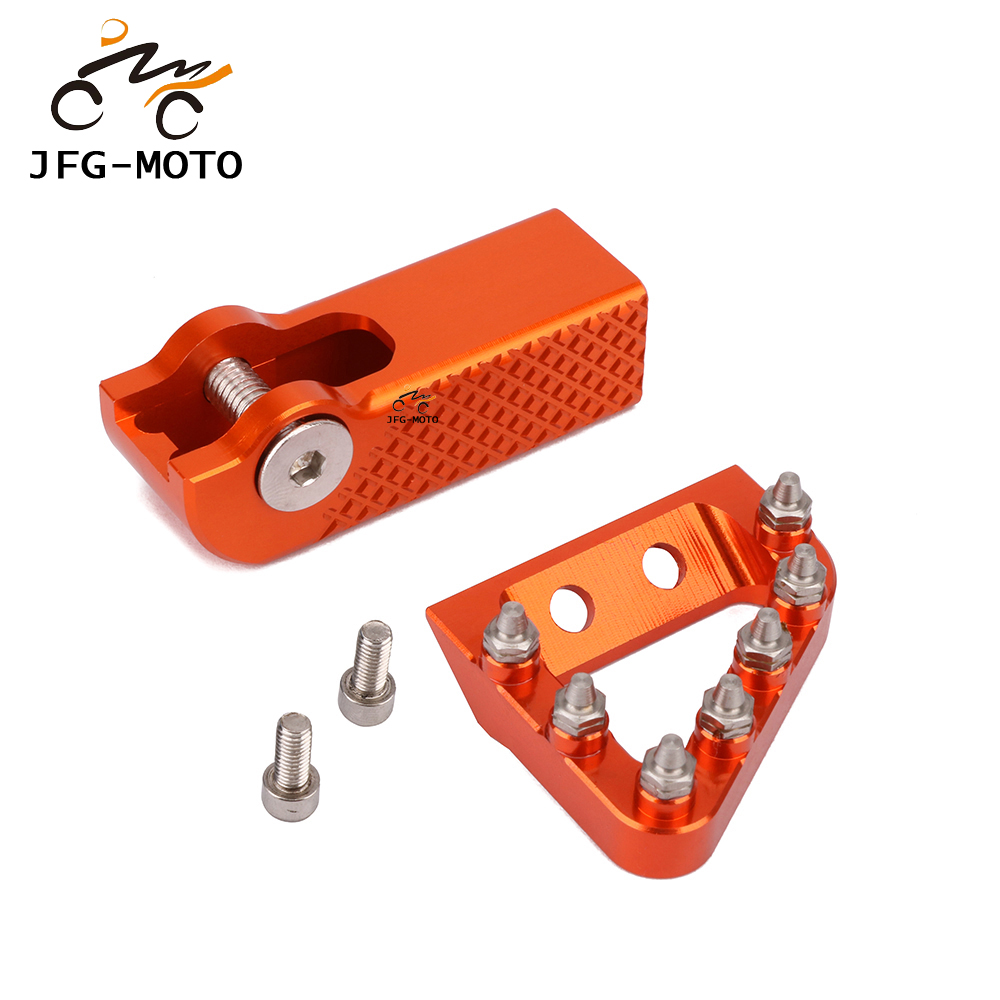 Motorcycle 2019 Rear Brake Pedal Step Plate Gear Shifter Lever Tip For KTM SX XC XCF XCW XCFW EXC 125 250 350 450 500 2017 2019|Brake Disks| |  - title=