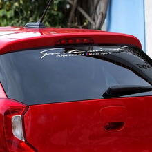 For BMW E46 E90 E60 E39 E36 E87 E92 E91 E34 F30 E10 F20 F30 G30 X1 X3 X5 X6 Car Stickers Front Rear Windshield Car Accessories
