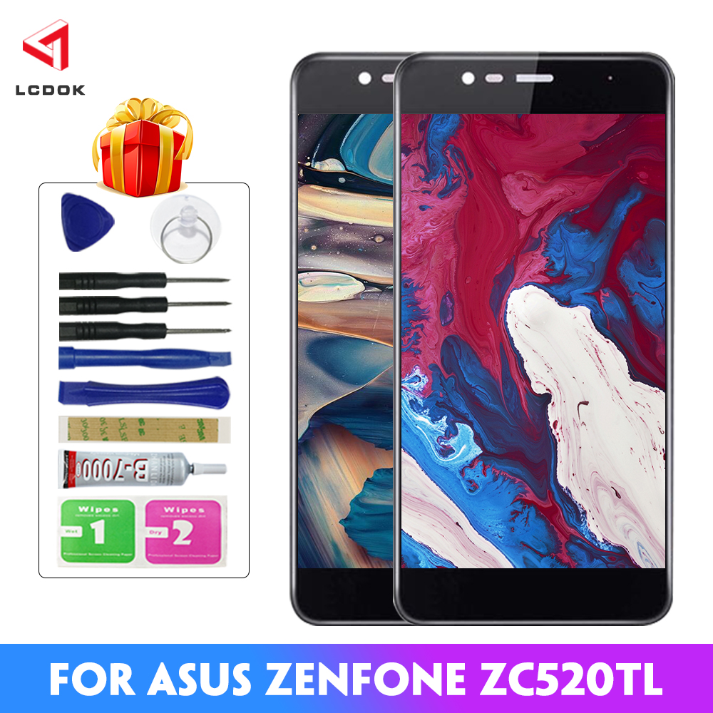 100% Tested LCD For <font><b>Asus</b></font> <font><b>Zenfone</b></font> <font><b>3</b></font> <font><b>Max</b></font> <font><b>ZC520TL</b></font> X008D X008DC LCD Display Touch <font><b>Screen</b></font> Digitizer Assembly Panel <font><b>Replacement</b></font> Parts image