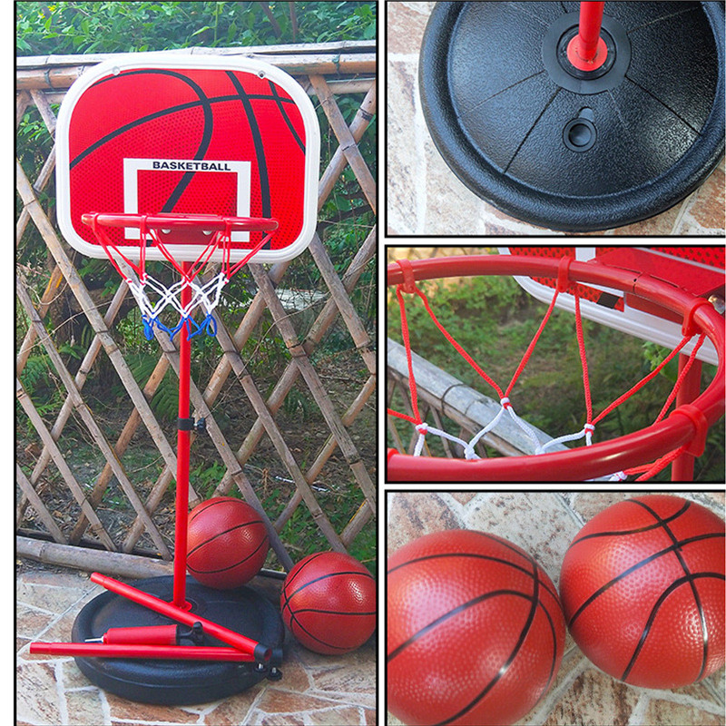 Adjustable Basketball Board Adjustable Height Children Hanging Basketball Stand Indoor Mini Basketball Hoop Board For Kids Game