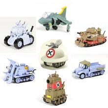 Novo 6 estilos de metal slug x tanque caminhão avião clássico jogo veículo collectible montagem modelo kits de construção presente para o menino
